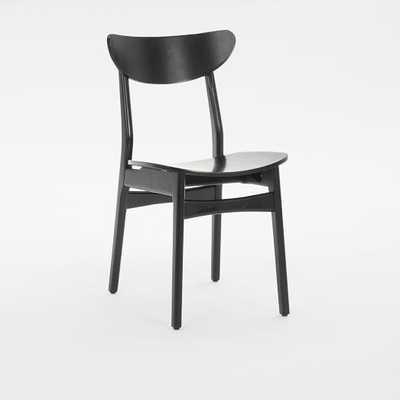 Classic Café Dining Chair - Lacquer Wood - West Elm