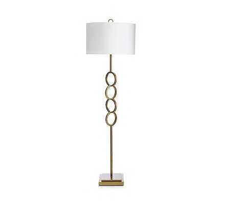Axiom Brass Floor Lamp - Crate and Barrel