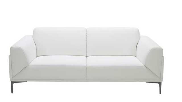 Bridgeville Leather Sofa - Wayfair