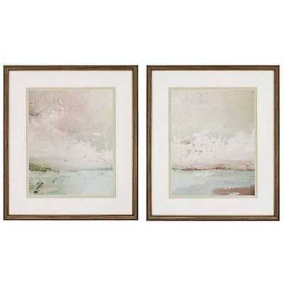 """Eastern Shore Set of 2 29"""" High Giclee Wall Art - Lamps Plus"""