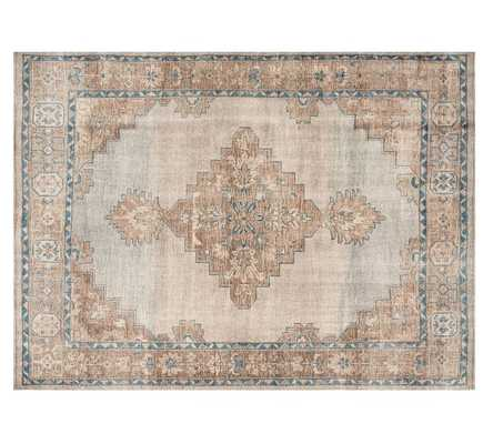 FINN HAND-KNOTTED RUG - BLUE MULTI - Pottery Barn