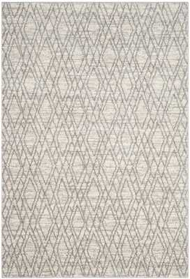 Tunisia Ivory/Light Gray 9' x 12' Area Rug - Arlo Home