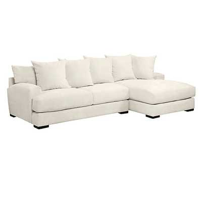 Stella Chaise Sectional - 2 PC - Z Gallerie