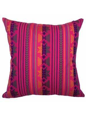 Tikal Pillow, Pink - Lulu and Georgia