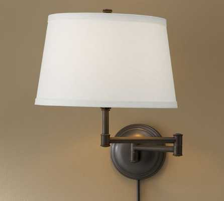 CHELSEA SWING-ARM SCONCE - Pottery Barn