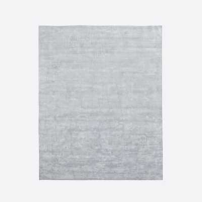 Lucent Rug - Frost Gray - West Elm