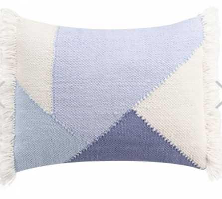 Mosaic Tile Fringe Pillow - Lulu and Georgia