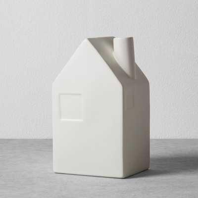 House Bud Vase - Cream - Hearth & Hand™ with Magnolia - Target