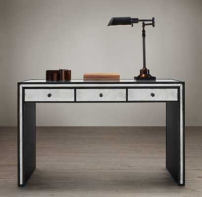 STRAND MIRRORED DESK - RH