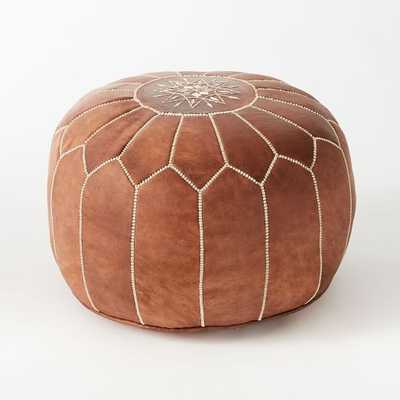 Moroccan Pouf - Small - West Elm