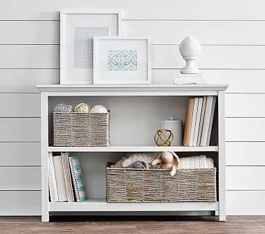 Cameron 2 Shelf Bookcase, White - Pottery Barn Kids