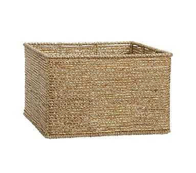 Gold Rope Storage Large - Pottery Barn Kids