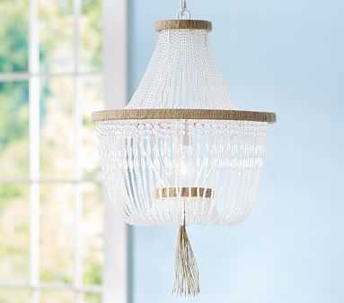 Rissa Crystal Beaded Chandelier - Pottery Barn Kids