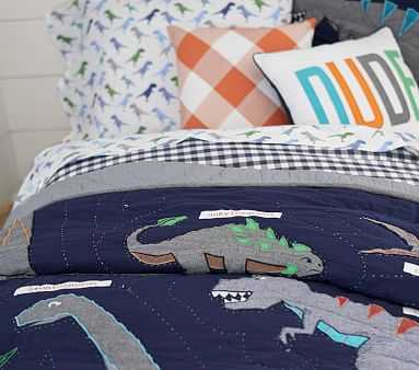 Warren Dino Quilt, Full/queen - Pottery Barn Kids