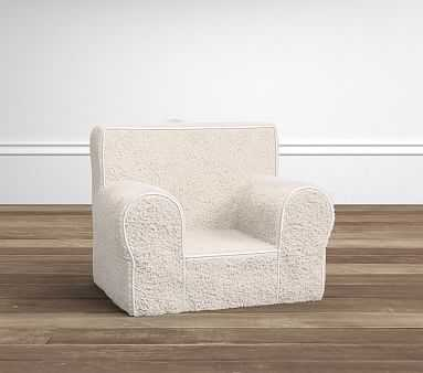 My First Anywhere Chair(R) - Cream Sherpa - Pottery Barn Kids