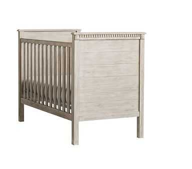 Rory Crib, Weathered White - Pottery Barn Kids