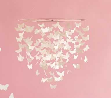 Butterfly Chandelier - Pottery Barn Kids