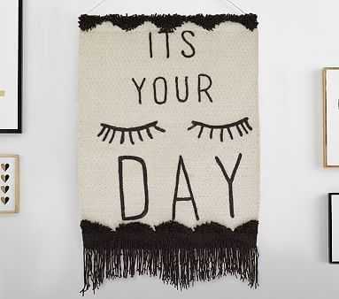 Emily & Meritt It's Your Day Tapestry - Pottery Barn Kids