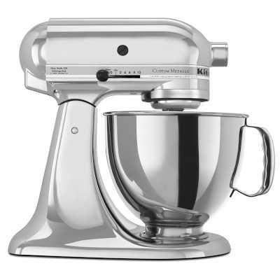 KitchenAid(R) Artisan Metallic Series Stand Mixer, Chrome - Williams Sonoma