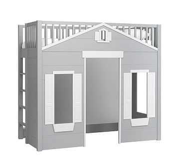 Playhouse Loft Bed - Pottery Barn Kids