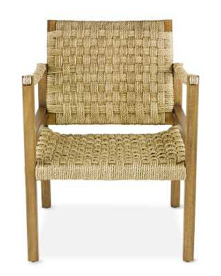 Andros Rope Chair, Abaca - Williams Sonoma