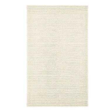Textured Wool Rug, 8x10', Natural - Pottery Barn Teen