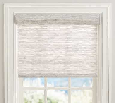 "Bali(R) Cordless Custom Roller Shade, RIVERBANK, 32 x 66"" - Pottery Barn"