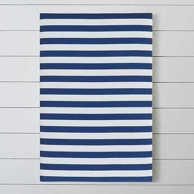 Stripe Pin-It Pinboard, Navy - Pottery Barn Teen