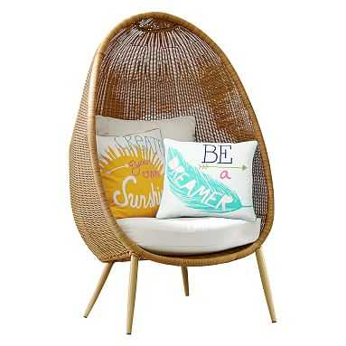 Woven Cave Chair, Natural - Pottery Barn Teen