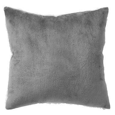 Ultra Plush Pillow, 16x16, Gray - Pottery Barn Teen