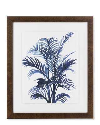 Indigo Foliage Print, II - Williams Sonoma