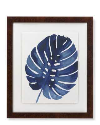 Indigo Foliage Print, VI - Williams Sonoma