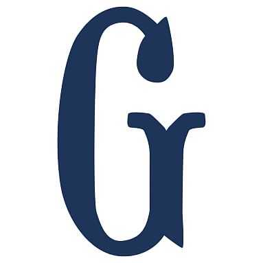 Camille Wall Letters, Navy, G - Pottery Barn Teen