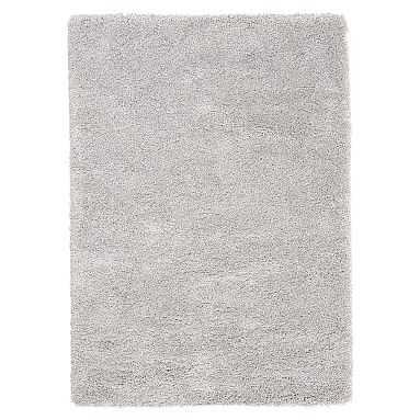 Luxe Shag Rug Light Grey 8x10 - Pottery Barn Teen