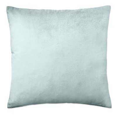 "Velvet Pillow Cover, 22"" X 22"", Breeze - Williams Sonoma"
