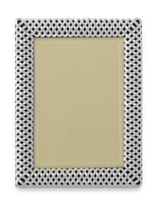 "L'Objet Braided Platinum Picture Frame, 5"" X 7"" - Williams Sonoma"