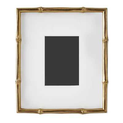 "AERIN Gilded Bamboo Gallery Frame, 5"" X 7"" - Williams Sonoma"