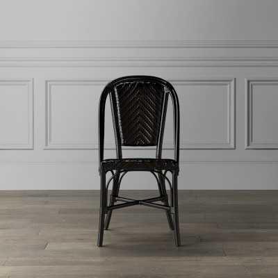 Parisian Bistro Outdoor Dining Chair, Black - Williams Sonoma