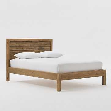 Bay Reclaimed Pine Bed, King - West Elm