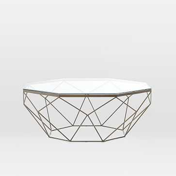 Geometric Coffee Table - West Elm
