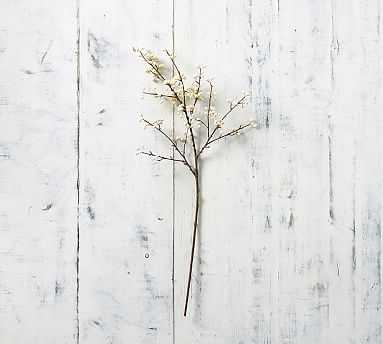 Faux White Berry Branch - Pottery Barn