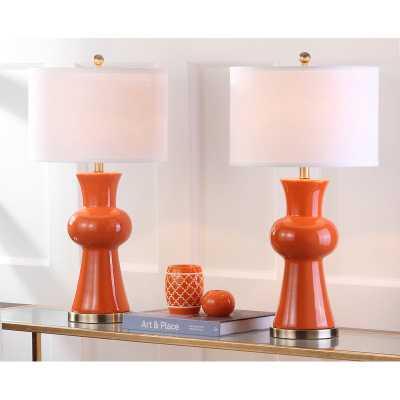 """Garlen Column 30"""" Table Lamp - Wayfair"""