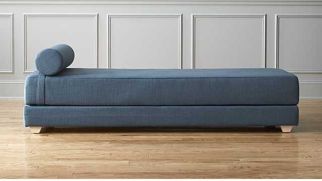 lubi turquoise sleeper daybed - CB2