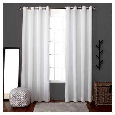 Loha Linen Window Curtain Panel Pair - Exclusive Home - Target