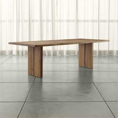 "Dakota 99"" Dining Table - Crate and Barrel - Crate and Barrel"