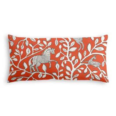 Lumbar Pillow - Pantheon - Persimmon - Loom Decor