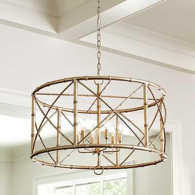Bamboo 6-Light Chandelier  5.0 - Ballard Designs