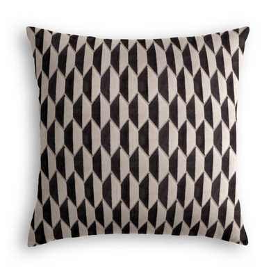 "Throw Pillow  Alessio Geo - Linen 24"" - Loom Decor"