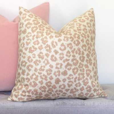 Feline Leopard Pillow Cover - Insert Not Included - Willa Skye