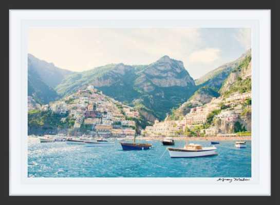 Positano Coast Harbor - Gray Malin